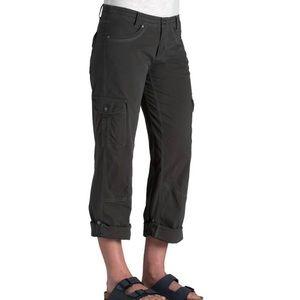 KUHL Black Splash Roll Up Cargo Pants